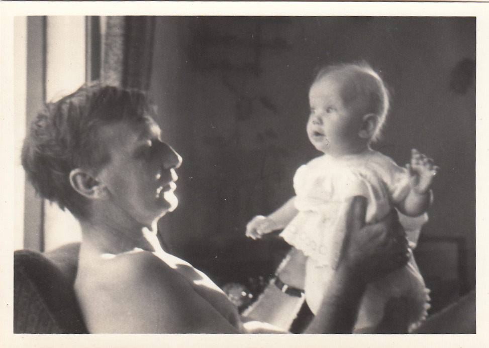 Australian Story<br/>Richie Richardson and Fiona Richardson as a baby.