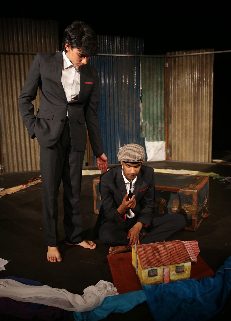 Out of Bounds with Tazme Pillay and Tailyn Ramsamy - credit Nardus Engelbrecht Cape Town Fringe 2016