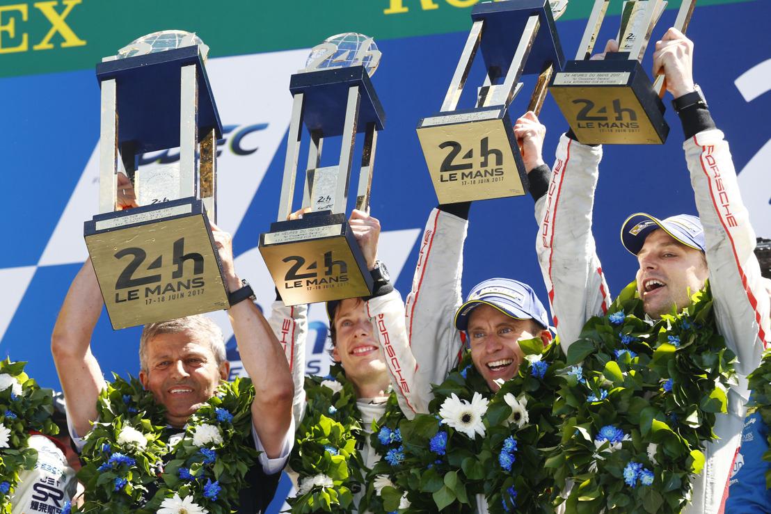 Porsche wint een bewogen editie van de 24 Uur van Le Mans!