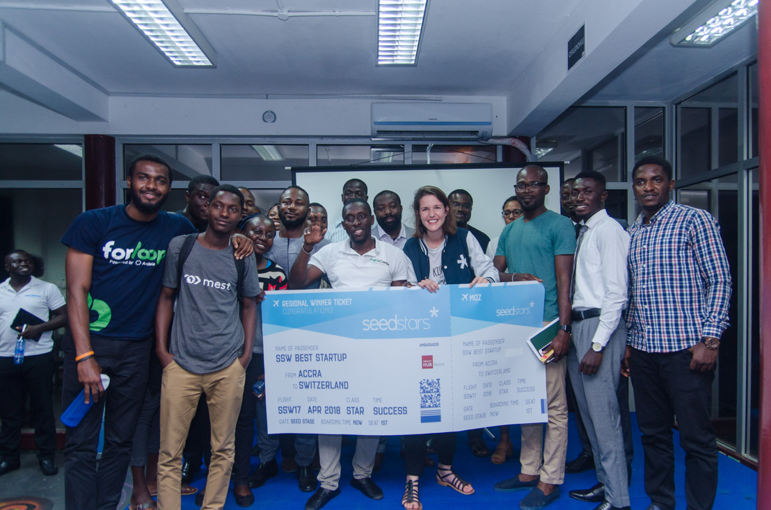 AGROCENTA NAMED GHANA BEST STARTUP AT SEEDSTARS ACCRA