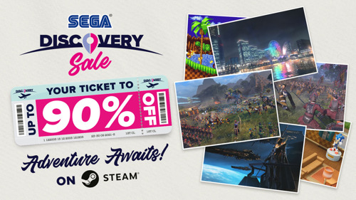 SEGA Discovery Sale is Now On