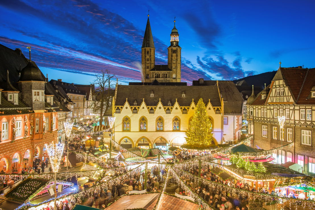 GOSLAR Weihnachtsmarkt Abend Quelle GOSLAR marketing gbmh Fotograf Stefan Schiefer