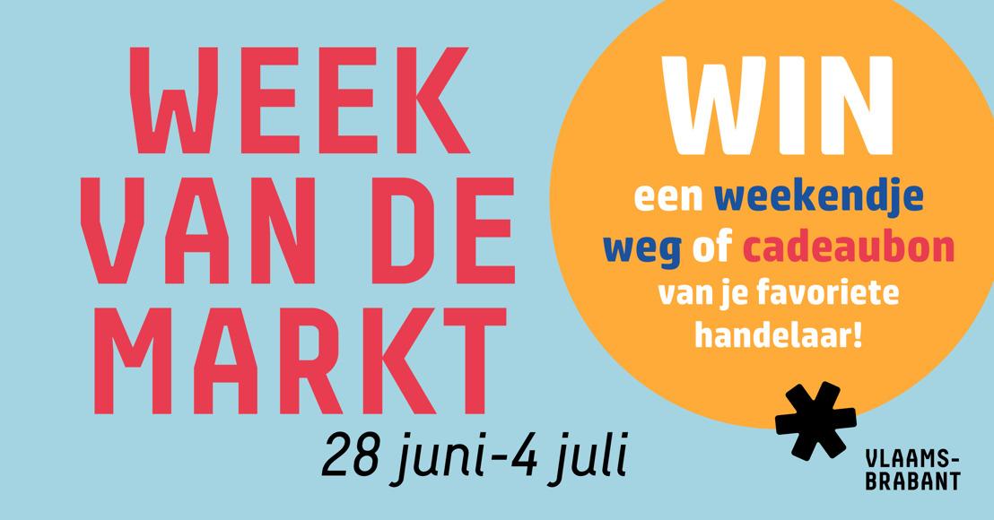 Week van de Markt promoot lokale marktbeleving