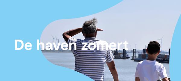 Preview: Zomer in eigen land? Zomer in de haven van Antwerpen!