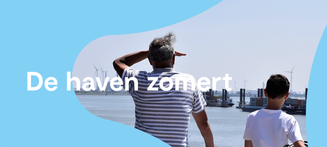 Zomer in eigen land? Zomer in de haven van Antwerpen!