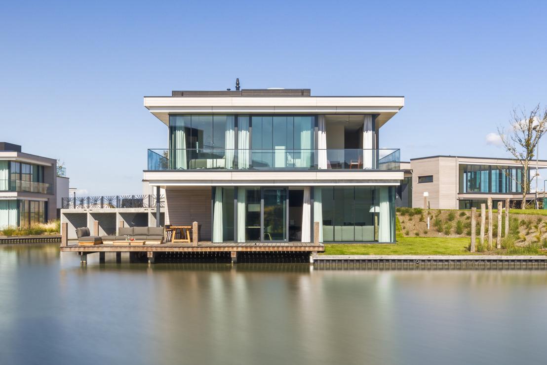Roompot Group start verhuur luxe villa's Harbour Village direct aan het Veerse Meer