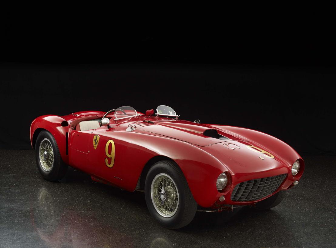 1953 Ferrari 375 MM Spyder by Pinin Farina The Quail, A Motorsports Gathering