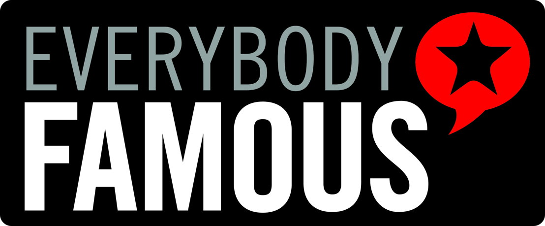 Everybody Famous logo black
