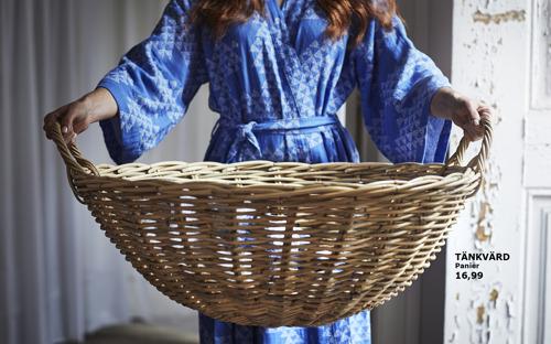 TÄNKVÄRD, la nouvelle collection IKEA durable en matériaux naturels
