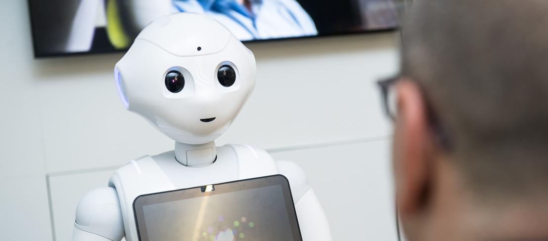 ZoraBots stelt al zijn robots James gratis terbeschikking aan de Belgische verzorgingstehuizen