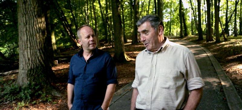 Karakters - Ben Crabbé en Eddy Merckx - (c) VRT - deMENSEN