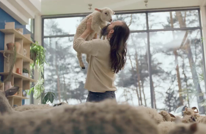 IKEA and DDB Brussels count sheep in their latest TV spot