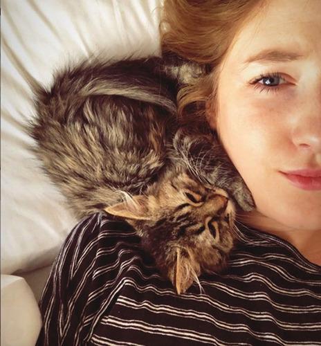 Bonne nouvelle pour Lee : le chaton est le bienvenu au Pérou