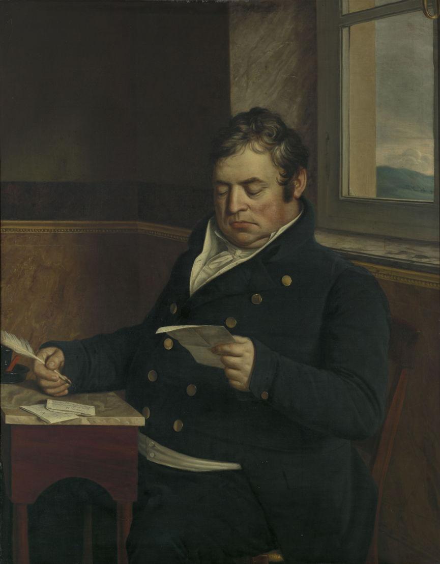 Portret van burgemeester Michel Eugène Claes, Jean-Baptiste Van der Hulst, c. 1810–1860 © Lukas - Art in Flanders, foto Dominique Provost