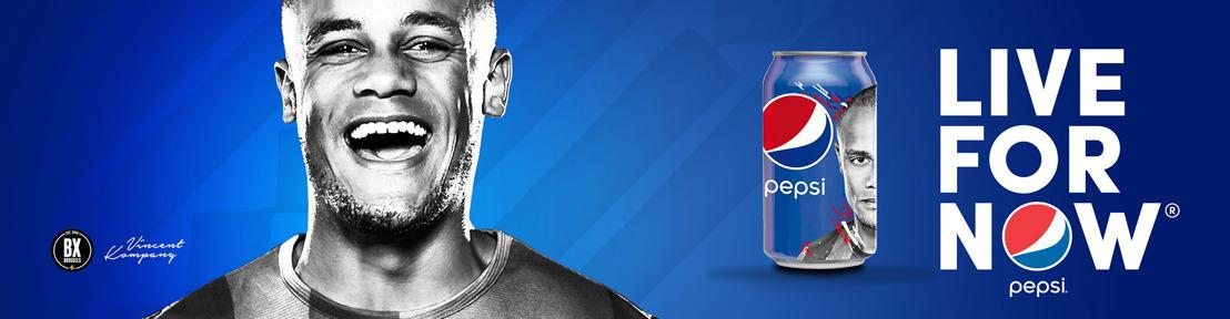 Pepsi Belgique donne le coup d'envoi de sa campagne football  avec Vincent Kompany dans le rôle principal