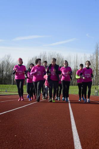 Anita's lopen de Antwerp 10 miles
