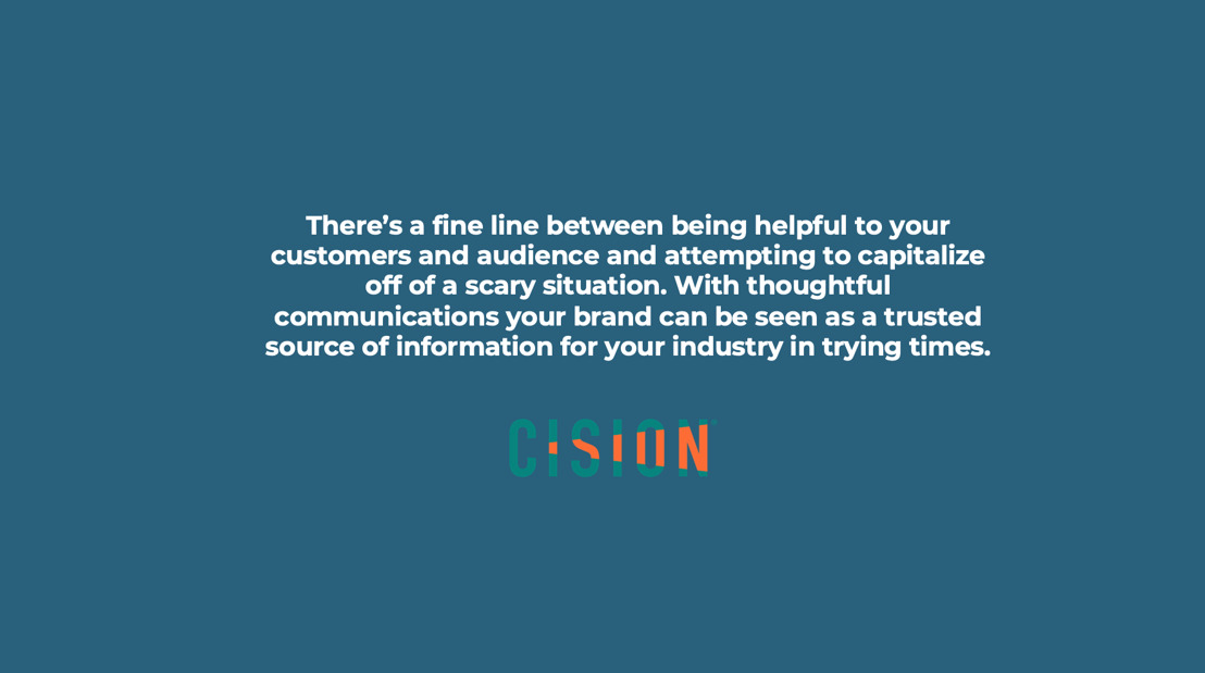 Best practices for brand communications in times of uncertainty