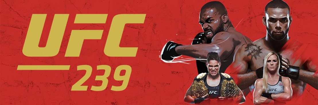 UFC 239 Jones vs Santos and Nunes vs Holm: Learn More About The Fighters