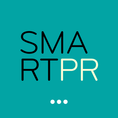 SMARTPR press room Logo