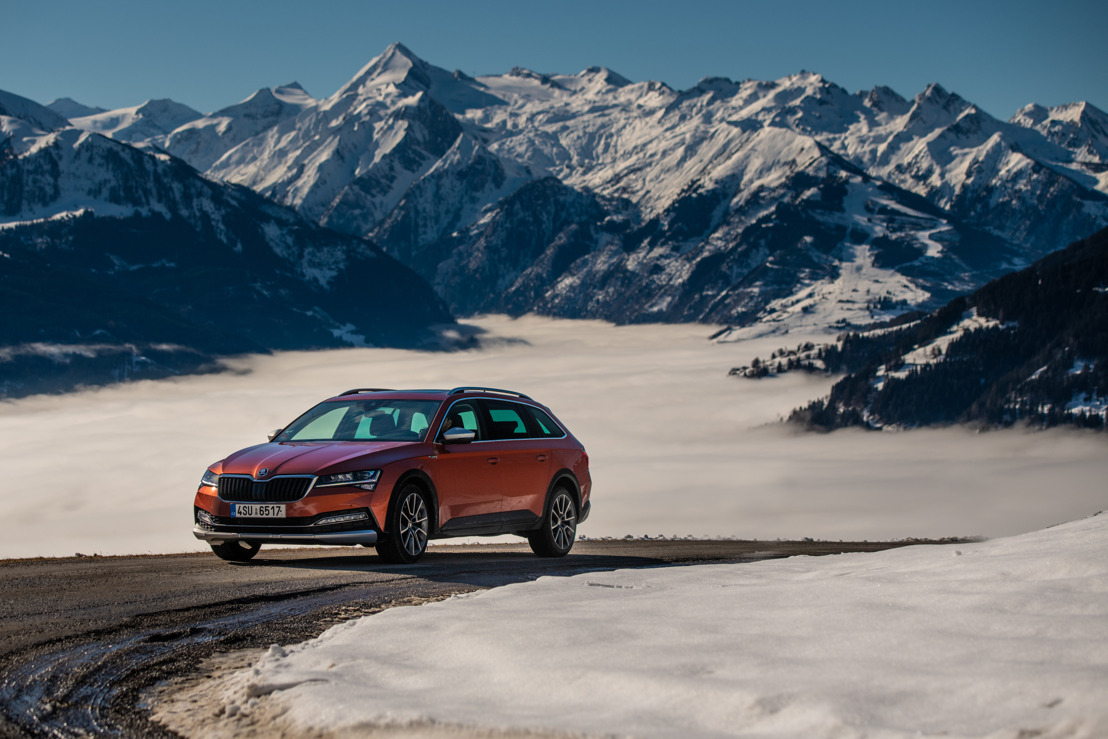 ŠKODA SUPERB SCOUT: een multifunctionele lifestyle-break voor elk terrein