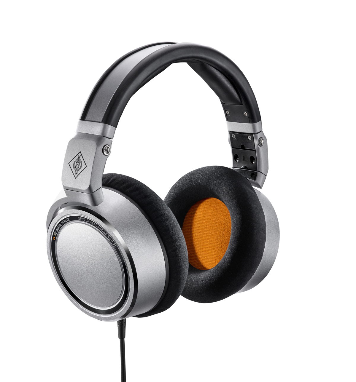 The Neumann NDH 20 is a closed-back studio headphone with a flat frequency response and natural, detailed sound