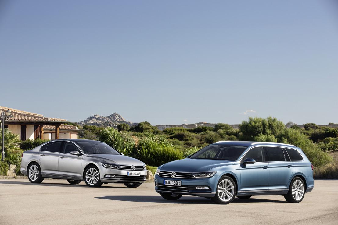 La nouvelle Passat : High-tech Business Class by Volkswagen