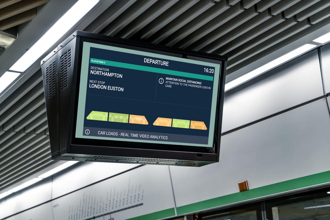 Pour répondre aux principales attentes des usagers des transports publics, Thales propose aux opérateurs une solution qui indique aux voyageurs en temps réel le niveau d'affluence