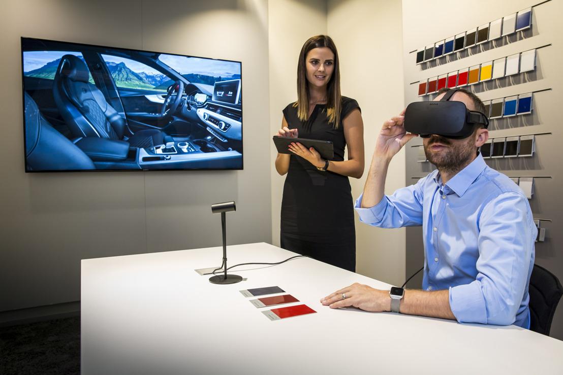 Audi brengt virtualrealitytechnologie naar de showroom