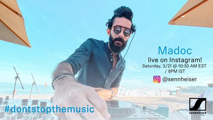 #DontStopTheMusic: Madoc