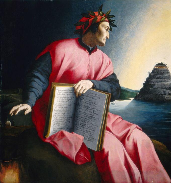 AKG5009365 Portrait allégorique de Dante, 16e siècle tardif. Washington, National Gallery of Art (c) akg-images