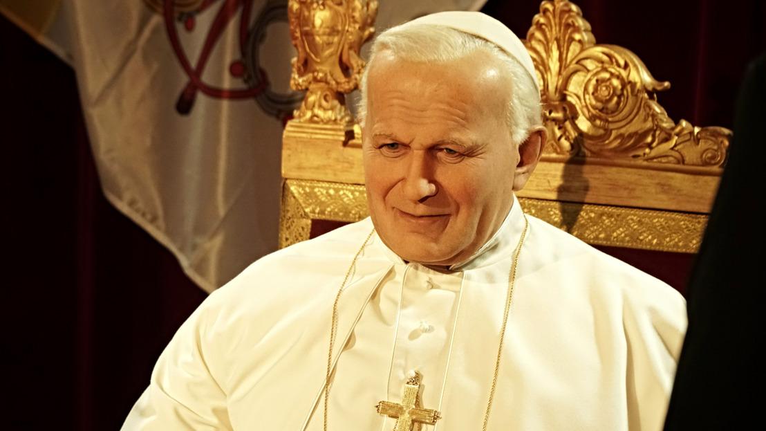 Audience u papeže Jana Pavla II. v muzeu Grévin