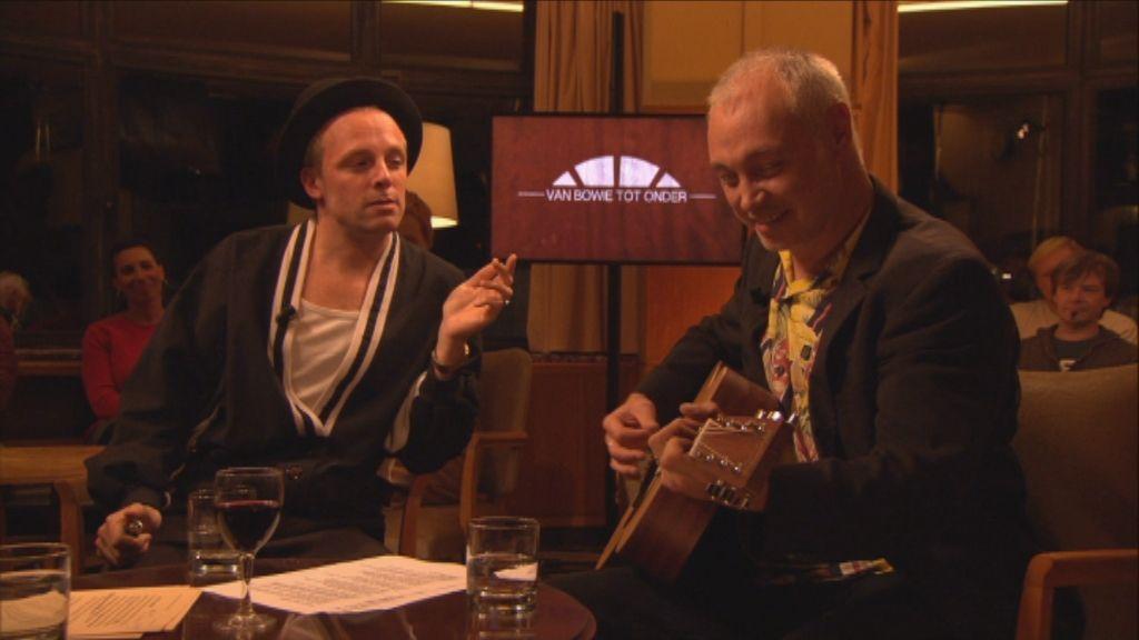 Studio Flagey: Van Bowie tot onder - Johannes Verschaeve en Patrick Riguelle - (c) VRT