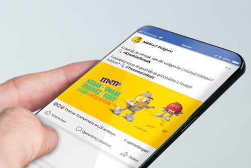 HeadOffice launches a chatbot for M&M's® teasing campaign