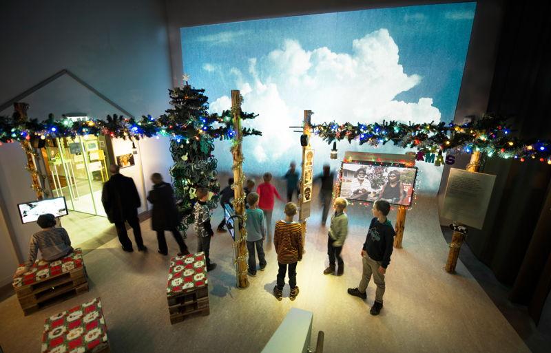 Panasonic proyectores en Museo Moesgaard de Historia Cultural 2