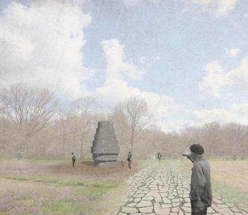 Kunstenaar Jason Slabbynck mag reuzegrote Steenman plaatsen in Vloethemveld