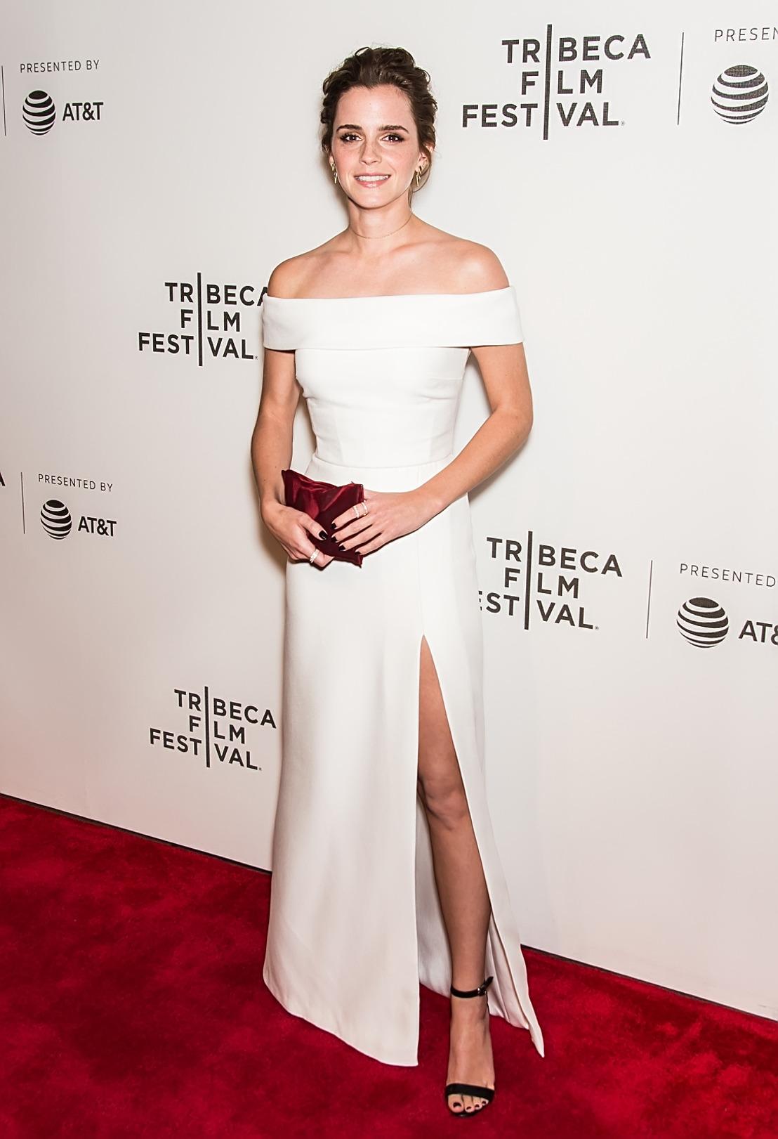 Emma Watson en Burberry