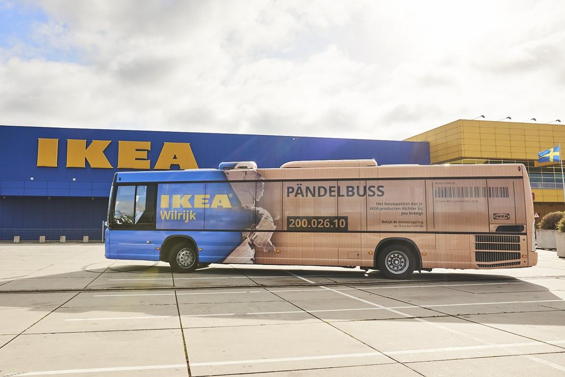 IKEA Wilrijk lanceert mobiele ophaalpunten in het noorden van Antwerpen