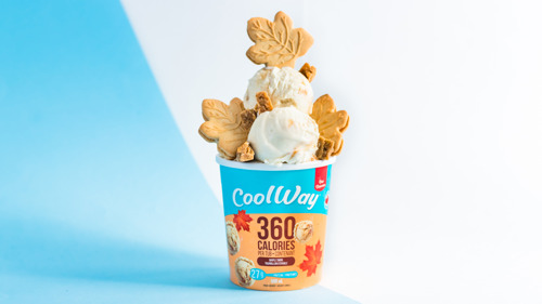 CoolWay is serving up Maple Swirl ice cream for Canada Day