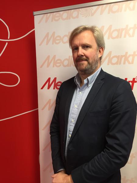 Sven Degezelle, CEO MediaMarkt België