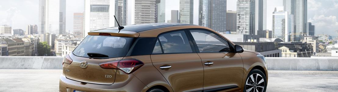 Hyundai Motor onthult nieuwe i20 in de aanloop van het salon van Parijs