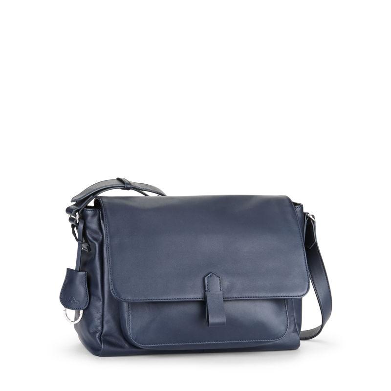 Maelisa Lea Blue in Leather
