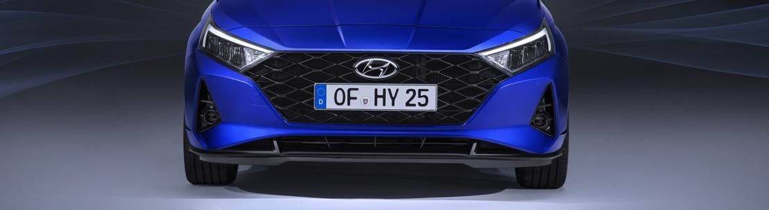 Nieuwe Hyundai i20