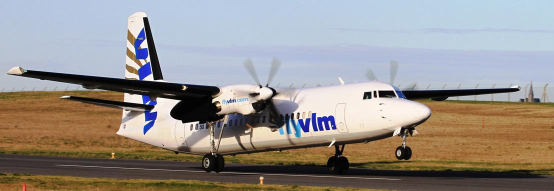 VLM Airlines vliegt vanaf 30 oktober opnieuw op de historische route Antwerpen - London City Airport