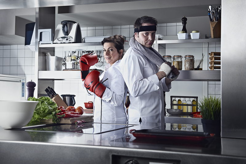 Lay's Jurymembers Kwinten De Paepe and Arabelle Meirlaen