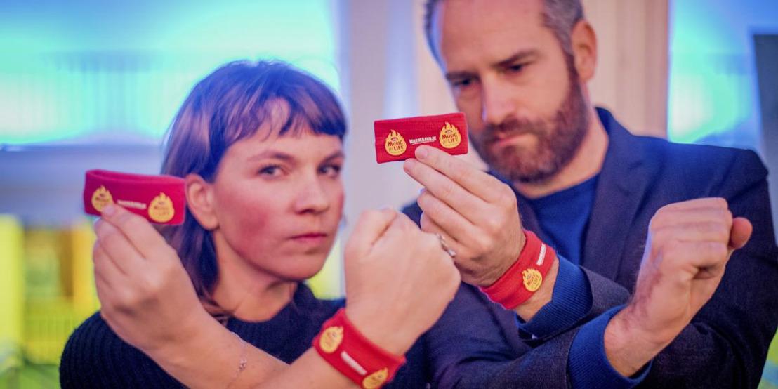 Boondoggle warmt Vlaanderen op voor Music for Life