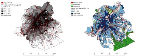 Sterfterisico door luchtverontreiniging in Brussel hoogst in arme buurten