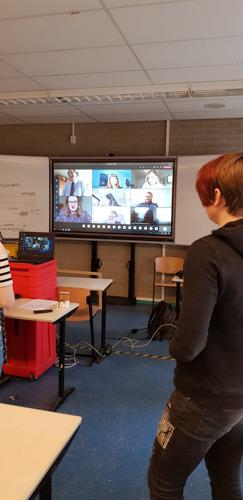 Britse studenten toch op bezoek bij hogeschool Odisee in Sint-Niklaas