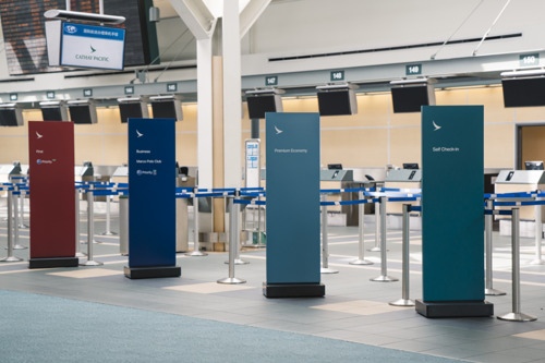 Cathay Pacific moves seamlessly to new airport check-in system