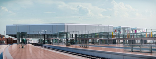 Start 2de fase vernieuwingswerken station Gent-Sint-Pieters