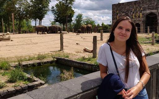 Laura zit in haar tweede jaar Ergotherapie op Campus Geel